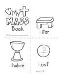 Catholic Mass Booklet - items used at Liturgy