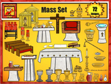 Catholic Mass Clip Art Set from Charlotte's Clips