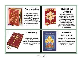 Catholic Mass Flashcards- Books