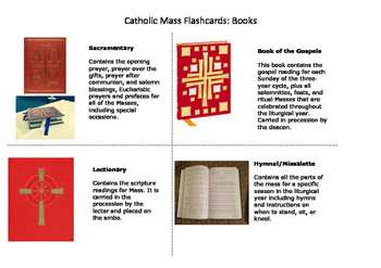 Catholic Mass Flashcards- Spaces & Furnishings PDF