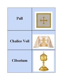 Catholic Mass - Vestments and Articles