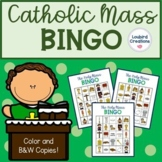 Catholic Mass Vocabulary Bingo Game