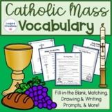 Catholic Mass Vocabulary Packet