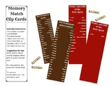Catholic Memory Clip Cards