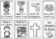 Catholic Mini Book - Miracles {One Page Foldable}