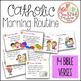 Catholic Morning Routine {Daily Prayers and Bible Verses}
