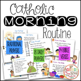 Catholic Morning Routine {Daily Prayers and Bible Verses}
