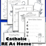Catholic Notebooking Pages for Religious Education - 79 Lessons