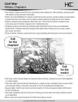 Catholic Perspective on War for Middle School