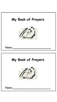 Catholic Prayer Book, a book of traditional Catholic prayers