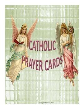 Catholic Prayer Cards Package