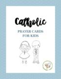 Catholic Prayer Cards for Children