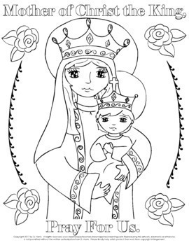 Catholic Prayer Coloring Pages!  Super Mega Packet with 16 Free Bonus Pages!