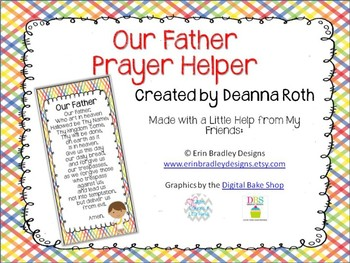 Catholic Prayer Helper:  Our Father