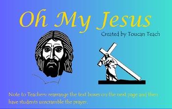Catholic Prayer Oh My Jesus SMARTBoard Activities