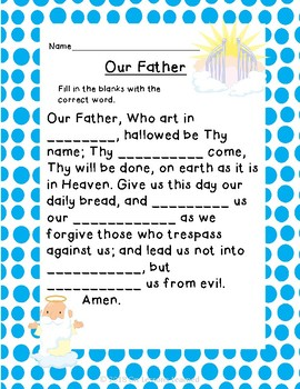 Catholic Prayer Packet