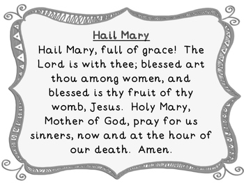 Catholic Prayer Posters 4.0