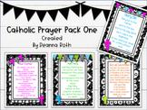 Catholic Prayer Posters--Pack One