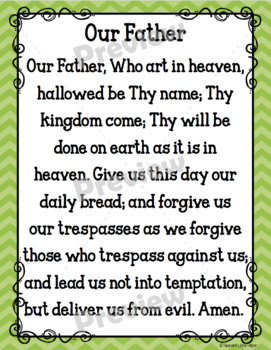 Catholic Prayer Posters {Rainbow}