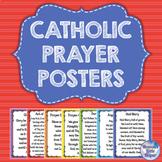 Catholic Religion Prayer Posters {Rainbow}