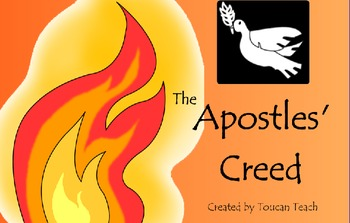 Catholic Prayer The Apostles Creed SMARTBoard Activities