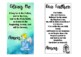 Catholic Prayers Bookmarks/Posters