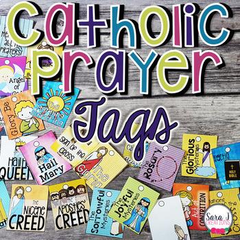 Catholic Prayers Brag Tags
