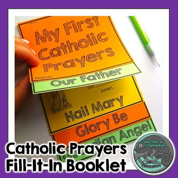 Catholic Prayers: Fill-It-In Booklet