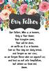 Catholic Prayers - Floral Theme