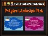 Catholic Prayers - Landscape with Stripes