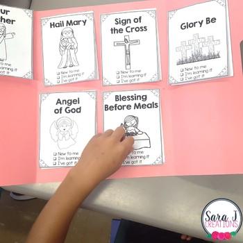 Catholic Prayers Lapbook BUNDLE