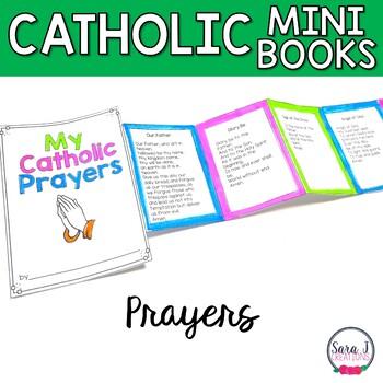 Catholic Prayers Mini Book