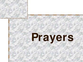 Catholic Prayers Power Point