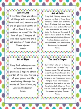 Catholic Prayers for the Classroom