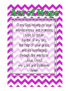 Catholic Prayers on Chevron
