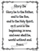 Catholic Religion Prayer Posters {Black and White}