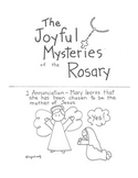 Catholic Rosary Mysteries Booklet
