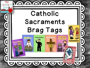 Catholic Sacrament Brag Tags