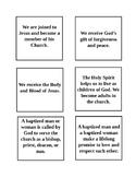 Catholic Sacrament Matching Game
