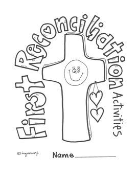 sacrament of reconciliation booklet by ingrid 39 s art tpt. Black Bedroom Furniture Sets. Home Design Ideas