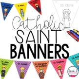 Catholic Saints Banners