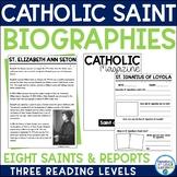Catholic Saint Biographies-- All Saints' Day
