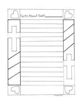 Catholic Saint Booklet