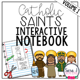 Catholic Saints Interactive Notebook
