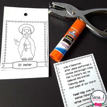 Catholic Saint Interactive Notebook BUNDLE