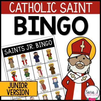 Catholic Saint Junior Bingo