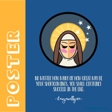 St. Mary MacKillop - Poster - Catholic Saint