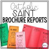 Catholic Saint Report Trifold Brochure