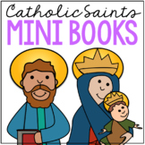 Catholic Saints Biography Mini Books in 3 Formats, SET of