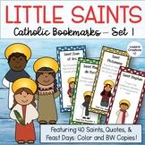 All Saints Day Catholic Bookmarks - Set 1